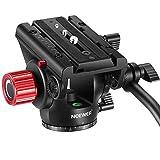 Neewer Resistente Testa Panoramica Fluida in Metallo per Video Fotocamera con Piastra Scorrevole &...