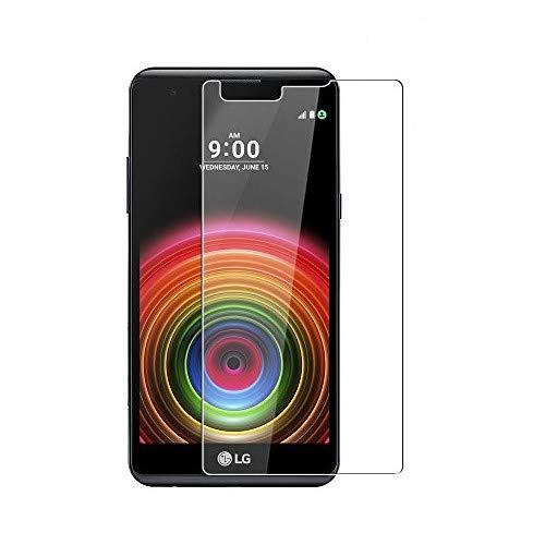 WEOFUN LG X Power Panzerglas, [2 Stück] Ultra-klar Schutzfolie für LG X Power [0.33mm, 9H Festigkeitgrad, 99prozent Transparenz]