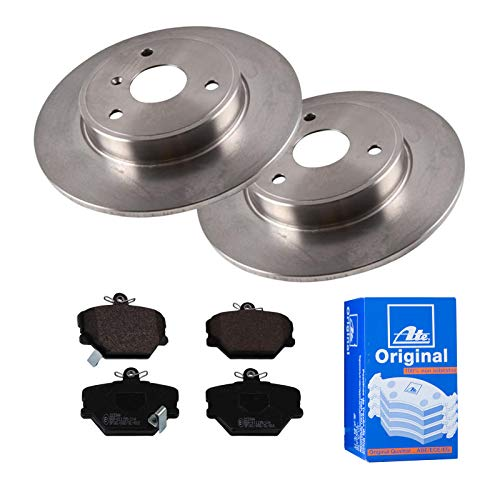 2 Bremsscheiben Voll 280 mm + Bremsbeläge ATE 1420-22471 Bremsensatz Bremsanlage