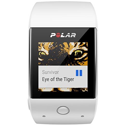 POLAR(ポラール)【日本正規品/日本語対応】活動量計+6LEDリスト型心拍計・GPS搭載M600ホワイト90063090ホワイト