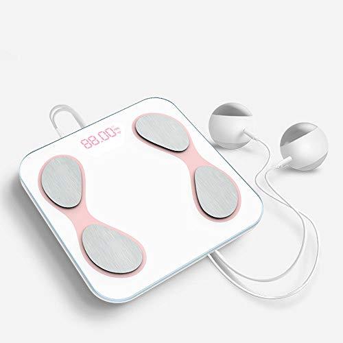Het Opladen Van APP Elektronische Weegschaal, Bluetooth Smart Electronic Menselijke Maat Gezondheid Schaal Meten Van Lichaamsvet Schaal