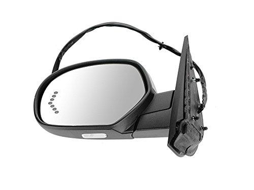 APA Power Folding Mirror for GMC Chevy Suburban Silverado Tahoe Avalanche 07-14 Heated Memory Signal Chrome Right