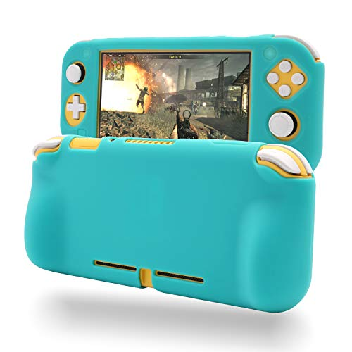 Grip Case for Nintendo Switch Lite, Silicone Case for Nintendo Switch Lite - Turquoise