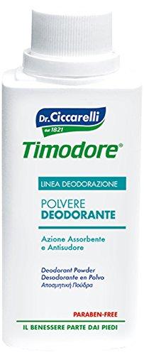 Timodore Polvos Desodorante - 250 ml