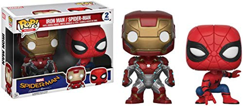 Funko POP!: Marvel: Spider-Man Homecoming: Iron Man + Spider-Man