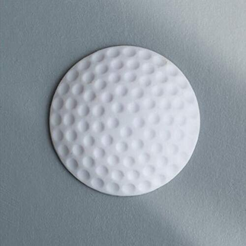 Guardabarros de puerta silenciosa de engrosamiento de pared Modelado de golf Manija de guardabarros de silicona Cerradura de puerta Almohadilla protectora Palo de pared de protección