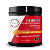 OPTIMUM EFX NeurOFF, CNS Recovery Complex with KSM-66® Ashwagandha, Post-Workout Muscle Recovery, Sleep-Aid, Zero Artificial Ingredients - Orange, 20 Servings