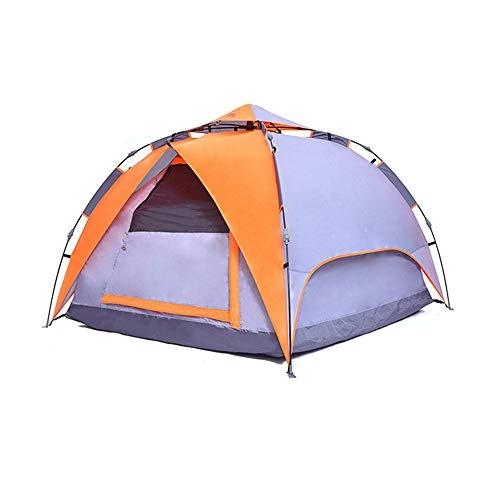 Zhengowen Tente Igloo Froide épreuve et Chaud Pêche d'hiver Tente Unique avec Glace Ongles Traction et Sac de Transport Tente dôme extérieur Unisexe (Couleur : Orange, Size : 240x240x145cm)