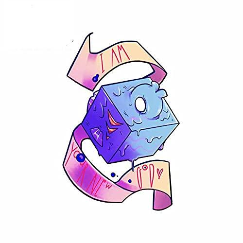 A/X 13 cm 8,7 cm para Cinta de Hielo bobinado Pegatinas de Coche Impermeables Dibujos Animados Windows decoración de Tabla de Surf