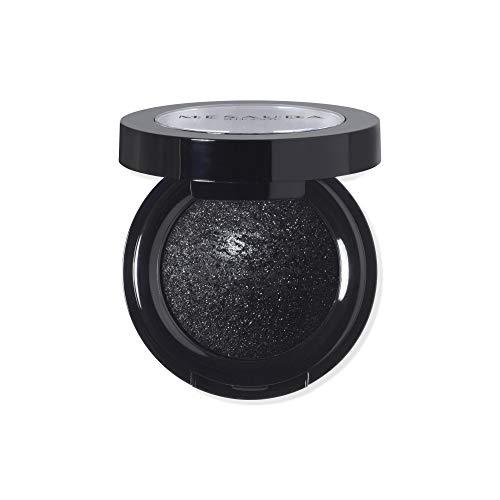 MESAUDA Milano Luxury Eyeshadow Lidschatten gebacken 304Black Diamond Paraben Free