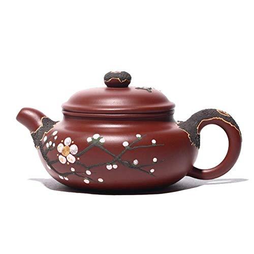 LULUTING Tetera Antigua Pintada a Mano Mineral de la Tetera Dahongpao Tea Pot Regalo Tetera