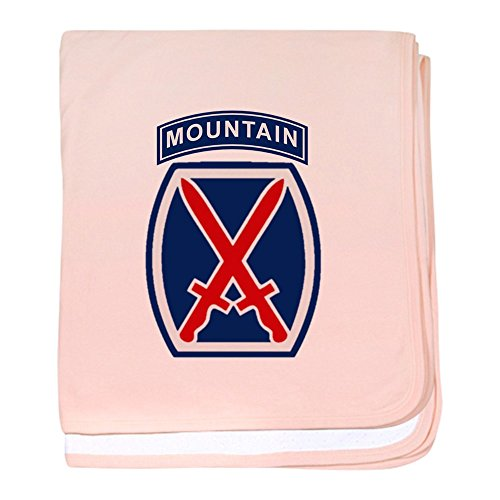 CafePress – 10th Mountain Division – Couverture pour bébé, Super Doux pour Nouveau-né Lange