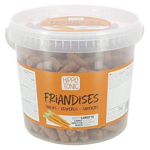 Hippo-Tonic – caramelos para caballos con sabor zanahoria – Naranja, 3 kg