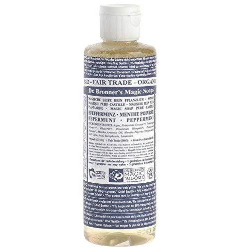 Dr. Bronner's Naturseife - Flüssigseife - Pfefferminze 240 ml