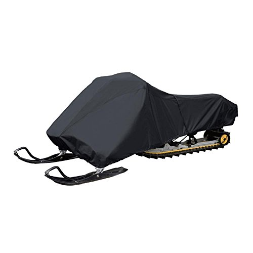 Coverify Snowmobile Cover Waterproof Snow Machine Sled Cover Fit for Polaris Snowmobile Travel Cover