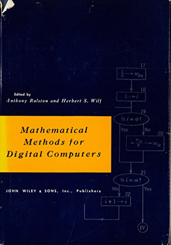 Mathematical Methods for Digital Computers: v. 1