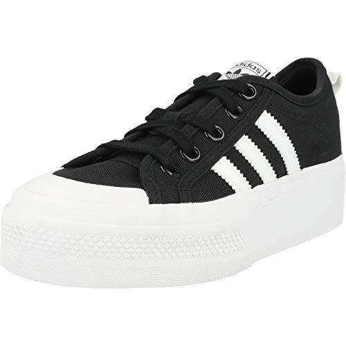adidas Originals Sneaker Nizza Platform FV5321 Schwarz Weiß, Schuhgröße:38 2/3