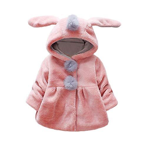 Amlaiworld Abrigos Bebe niñas,Chaqueta con Capucha de Orejas de Conejo de Venonat...