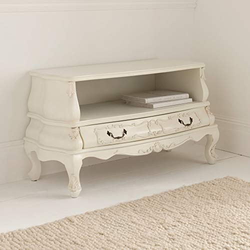 homesdirect365 Bergere Antique French Style TV Cabinet