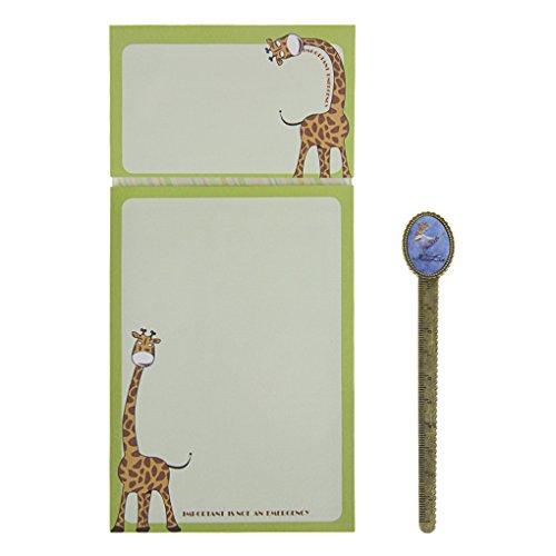 Notizblock Magnetblock 120 Blätter Süß Cartoon Kühlschrankblock Notizzettel To Do Liste Einkaufsliste für Kühlschrank und Tafel