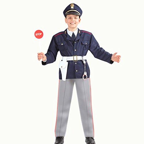 Pegasus Disfraz de carnaval para nio  Polica  Talla 10/11 aos  123 cm