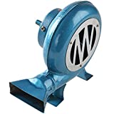 XJZKA Manivela Blacksmith Forge Blower 120W Soplador de Barbacoa Manual con Interfaz Rectangular, para Acampar/Picnic/Actividades al Aire Libre