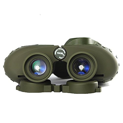 Fernglas Leistungsstarke Russische Militär 7X50 / 10X50 Meeresteleskop Digitaler Kompass Low-Light-Level Nachtsichtgerät Für Vogelbeobachtung Sightseeing Jagd Wildbeobachtung Sportveranstaltungen,7X50