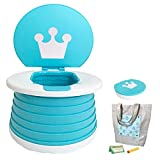 2-in-1 Portable Kids Potty Trainer, Travel Potty for...