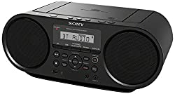 Sony ZSRS60BT CD Boombox review