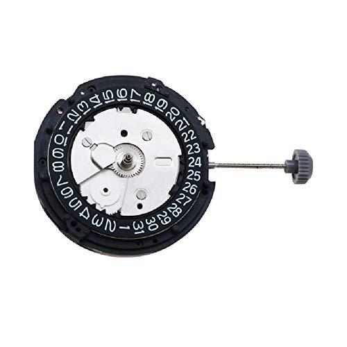 Nuevo movimiento de reloj de repuesto para Seiko 5M65 Movimiento cinético 7 joyas H3 Date