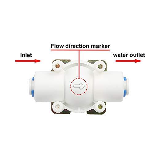 Fashion SHOP Valvula solenoide NC válvula solenoide eléctrico magnético DC 12V Interruptor de Flujo de Agua de Entrada de Aire 1/4
