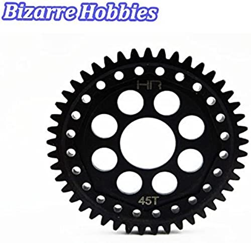 Hot Racing ECX 1 10 4WD Circuit Stadium Ruckus Mod1 45T Steel Spur Gear SECF45M1 by Hot Racing