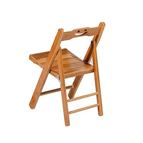 YANGYUAN Silla Plegable portátil, Presidente de baño Silla sillas Plegables al Aire Libre Estudio de heces Inicio Volver Silla for niños