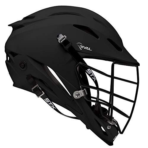 STX Rival Black Lacrosse Helmet