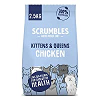 This high protein, gluten-free cat food is made of 77% chicken and is packed with vitamins and minerals! Perfect for growing kittens Our gut friendly recipe has added probiotics for gentle digestion, so is ideal for cats with sensitive stomachs No de...