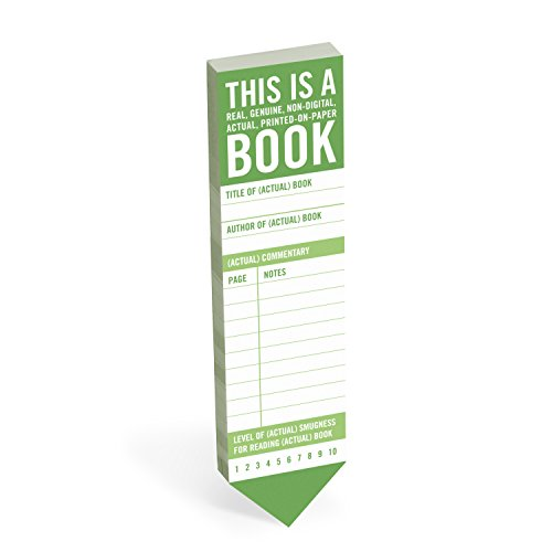 Knock Knock This Is a Book Bookmark Pad