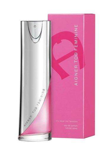 Aigner Too Feminine femme, Eau de Parfum Natural Spray , 100ml