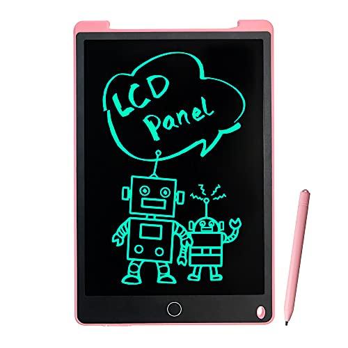 Richgv Tableta de Escritura LCD, 12 Pulgadas Tableta de Dibujo para Niños, Reutilizable Tablero de Escritura, Educativo Juguetes...