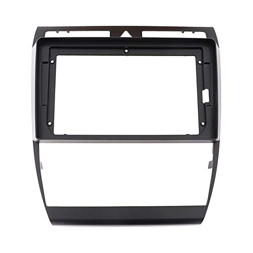 Rose flower YUshuiL FIT FOR Audi A6 2002 2003 2004 2005 2006 9 Pulgadas Coche Android Radio Navigation DVD DVD DABLABOJO Negro ABS Trim Fascia Marco YSL (Color Name : Black, Size : 9 Inch)