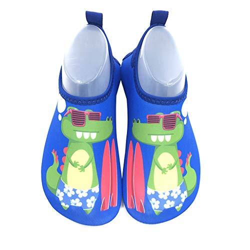 1 Paar Kinder-Cartoon-Schwimmschuhe für Jungen und Mädchen, rutschfeste Socken für Strand, Pool, Surfen, Yoga, kein Wasser absorbieren, leichtes Schwimmzubehör, 4, XXX-Large