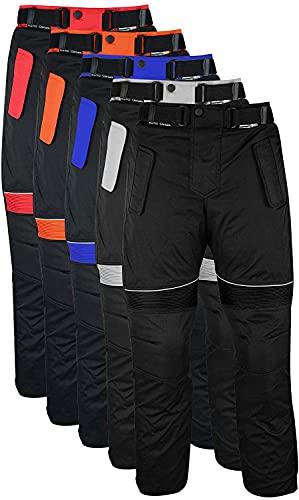 German Wear Herren Motorradhose Textilien Motorrad Hose Kombihose, 60/4XL, Rot