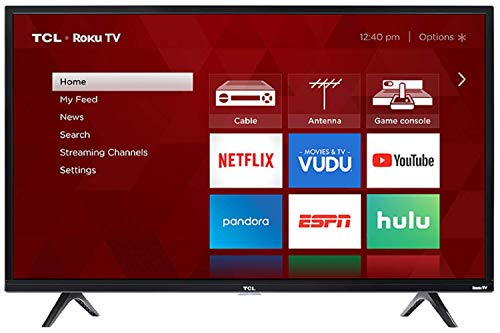 TCL 32' Class HD (720P) Roku Smart LED TV (32S321)