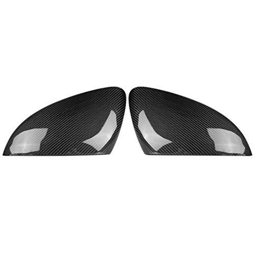 UV-beständige, langlebige Rückspiegelabdeckung Trockene Kohlefaser Praktische Auto-Umrüstung für Autos