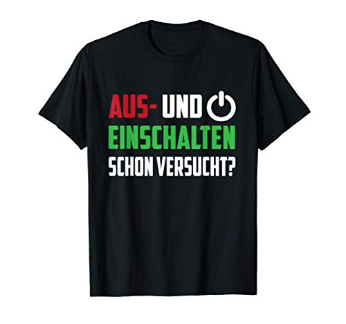 ITler Informatik Geschenk | Gamer Zocker PC Nerd Spruch T-Shirt