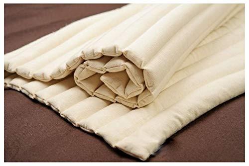 Bettwäsche Medizinische Matratze 70x100 cm 100% Baumwolle gefüllt mit Charlock/Senf/Buchweizenkernmatratze Meditationsmatte - Yoga matte