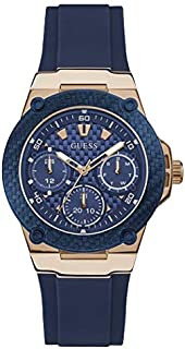 Guess Sport Watch for Women, Silicone, Analog - W1094L2