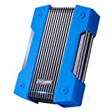 ADATA HD830 disco rigido esterno 2000 GB Blu