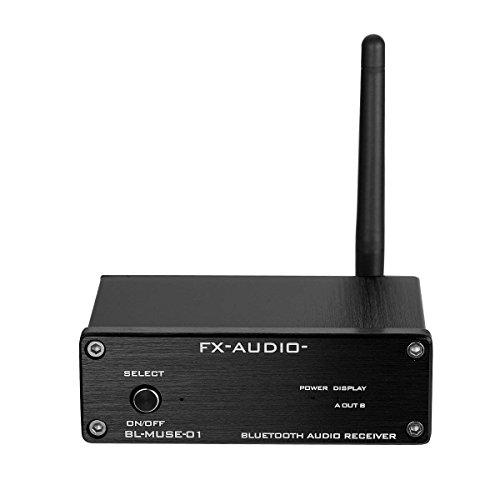 Nobsound HiFi Lossless - Ricevitore audio Bluetooth ottico/coassiale/stereo L/R RCA Out per amplificatore digitale