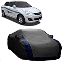 MotRoX Sporty Grey Car Body Cover for Maruti Suzuki Swift Dzire (and Triple Stiched_GN)