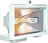 Projecteur Smartwares HL400W – 400 W – 8 850 lumens – Halogène –  Blanc